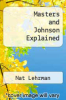 cover of Masters and Johnson Explained