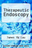 cover of Therapeutic Endoscopy