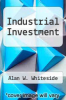 cover of Industrial Investment