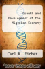 cover of Growth and Development of the Nigerian Economy