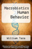 cover of Macrobiotics Human Behavior