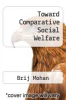 cover of Toward Comparative Social Welfare