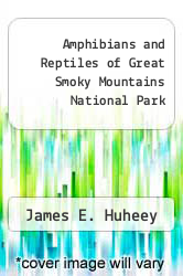 Cover of Amphibians and Reptiles of Great Smoky Mountains National Park EDITIONDESC (ISBN 978-0870490774)