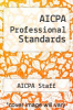 cover of AICPA Professional Standards (1st edition)