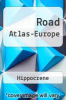 cover of Road Atlas-Europe