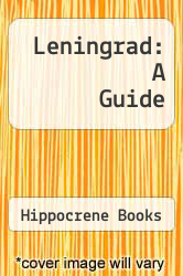 Cover of Leningrad: A Guide EDITIONDESC (ISBN 978-0870526398)