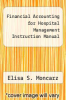 cover of Financial Accounting for Hospital Management Instruction Manual