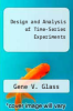 cover of Design and Analysis of Time-Series Experiments