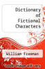 cover of Dictionary of Fictional Characters