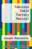 cover of Fabulous Fable Factory Musical