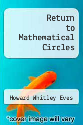 Cover of Return to Mathematical Circles 1 (ISBN 978-0871501059)
