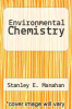 cover of Environmental Chemistry (3rd edition)
