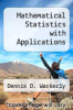 cover of Mathematical Statistics with Applications (3rd edition)