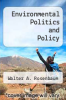 cover of Environmental Politics and Policy (2nd edition)