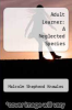 cover of Adult Learner: A Neglected Species (4th edition)