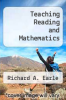 cover of Teaching Reading and Mathematics