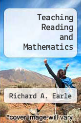 Cover of Teaching Reading and Mathematics EDITIONDESC (ISBN 978-0872072190)