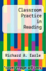cover of Classroom Practice in Reading