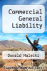 cover of Commercial General Liability (4th edition)