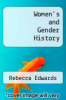 cover of Women`s and Gender History