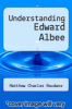 cover of Understanding Edward Albee