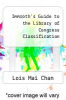 cover of Immroth`s Guide to the Library of Congress Classification (3rd edition)