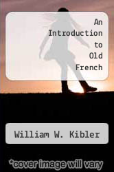 Cover of An Introduction to Old French EDITIONDESC (ISBN 978-0873522915)