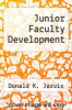 cover of Junior Faculty Development