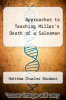 cover of Approaches to Teaching Miller`s Death of a Salesman