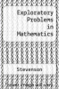 cover of Exploratory Problems in Mathematics