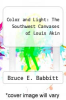 cover of Color and Light: The Southwest Canvases of Louis Akin