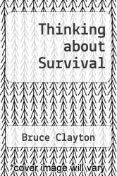 Cover of Thinking about Survival EDITIONDESC (ISBN 978-0873642934)