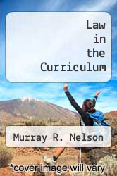 Cover of Law in the Curriculum  (ISBN 978-0873671064)