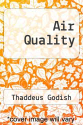 Cover of Air Quality 2ND 91 (ISBN 978-0873713689)