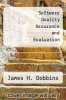cover of Software Quality Assurance and Evaluation