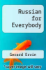 cover of Russian for Everybody