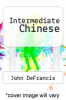 cover of Intermediate Chinese