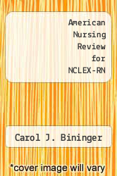 Cover of American Nursing Review for NCLEX-RN 2 (ISBN 978-0874343946)