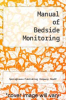 cover of Manual of Bedside Monitoring