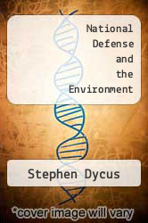 Cover of National Defense and the Environment EDITIONDESC (ISBN 978-0874516753)
