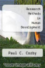 Research Methods in Human Development by Paul C. Cozby - ISBN 9780874847888