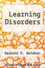 cover of Learning Disorders