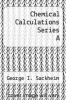 cover of Chemical Calculations Series A