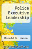 cover of Police Executive Leadership