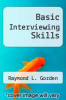 cover of Basic Interviewing Skills