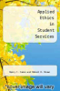 cover of Applied Ethics in Student Services