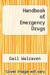 Cover of Handbook of Emergency Drugs EDITIONDESC (ISBN 978-0876189498)