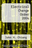 cover of Electrical Change Order 2004 (16th edition)