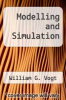 cover of Modelling and Simulation