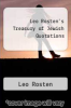 cover of Leo Rosten`s Treasury of Jewish Quotations